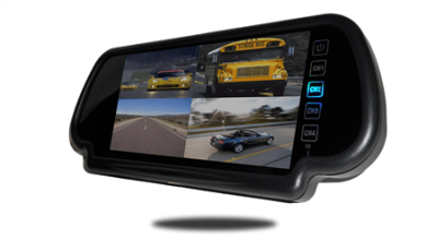 wireless rear view system with 3 backup cameras and clip on mirror. Black Bedroom Furniture Sets. Home Design Ideas
