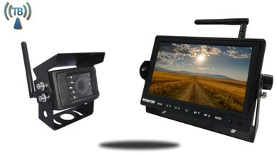 digital backup camera system for rv