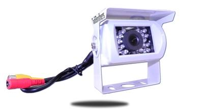 White RV Backup Camera