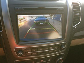 rear view camera kia