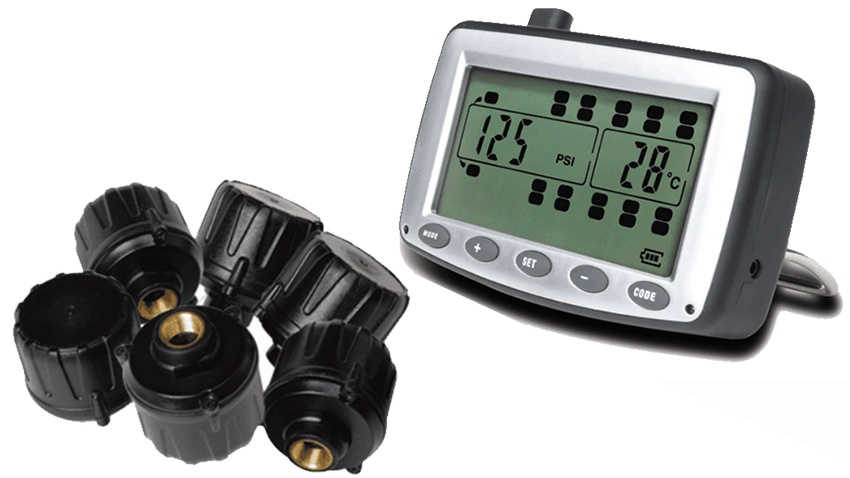 RV tire pressure monitor