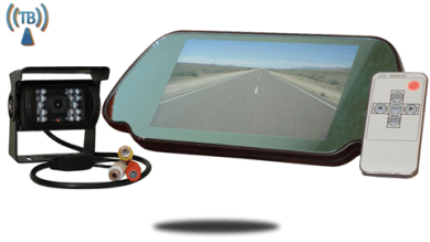 rear view mirror camera kit
