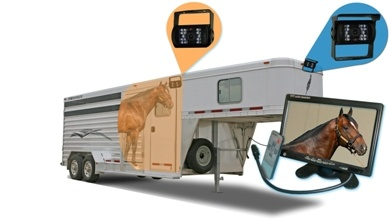horse trailer backup camera kit image
