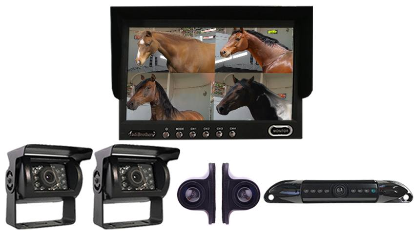 best backup camera for horse 5 wheel