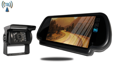 Commercial backup camera system