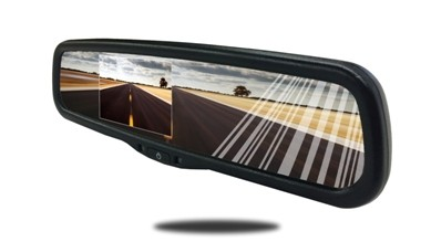 Rear View Mirror with Bluetooth and Built in Camera Screen