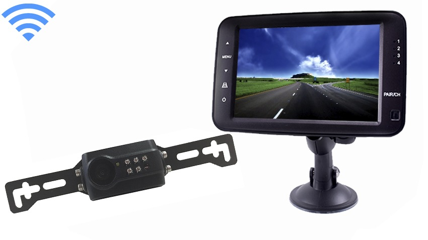 aftermarket license plate backup camera kit