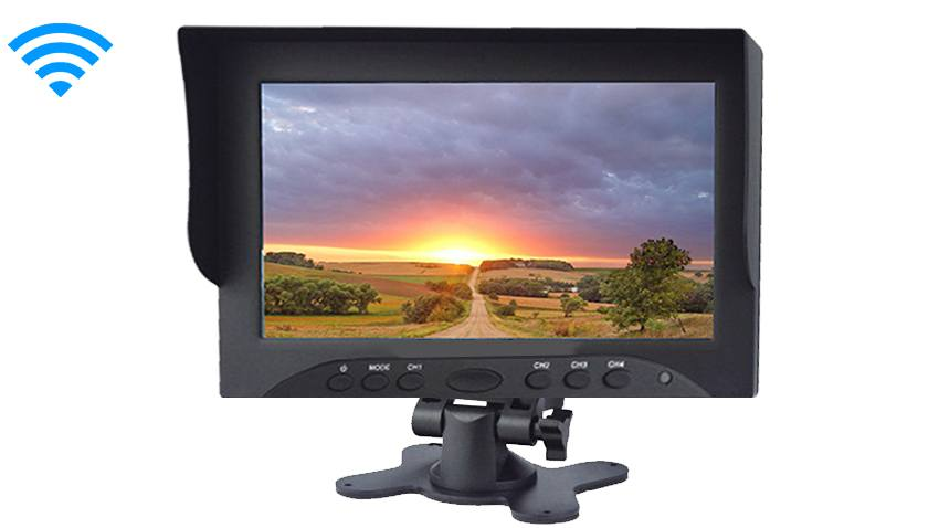 Rearview monitor for fifth wheel image
