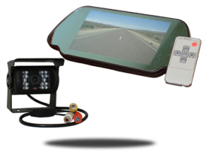 Box Truck cargo van Backup Camera System