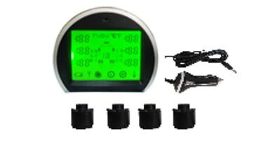 RV wireless tire pressure monitor