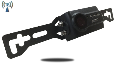 wireless license plate backup camera