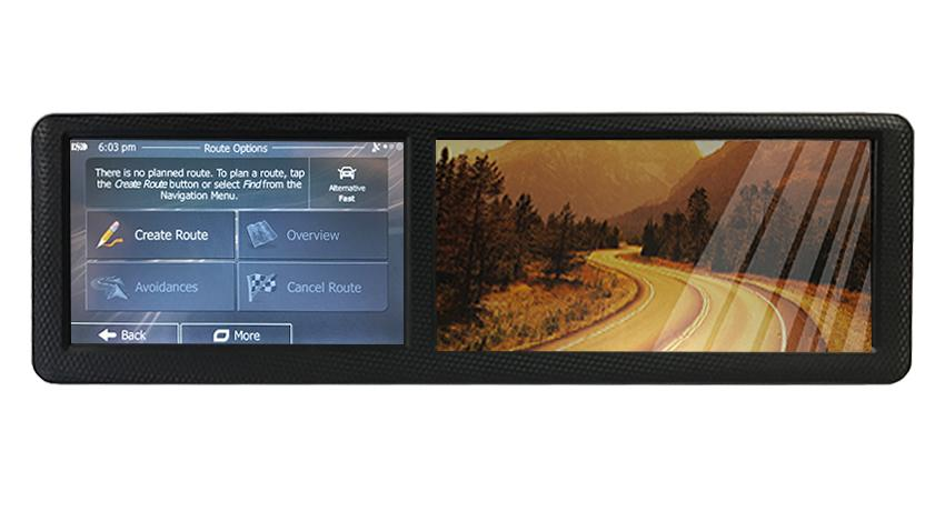 backup camera with navigation