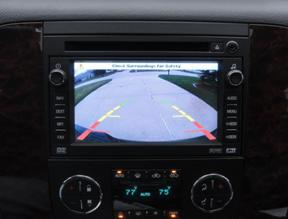 rear view silverado tailgate backup camera
