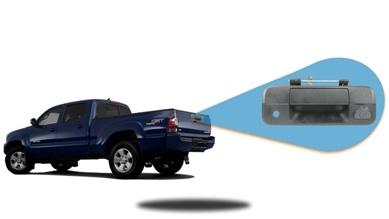 tailgate camera backup system