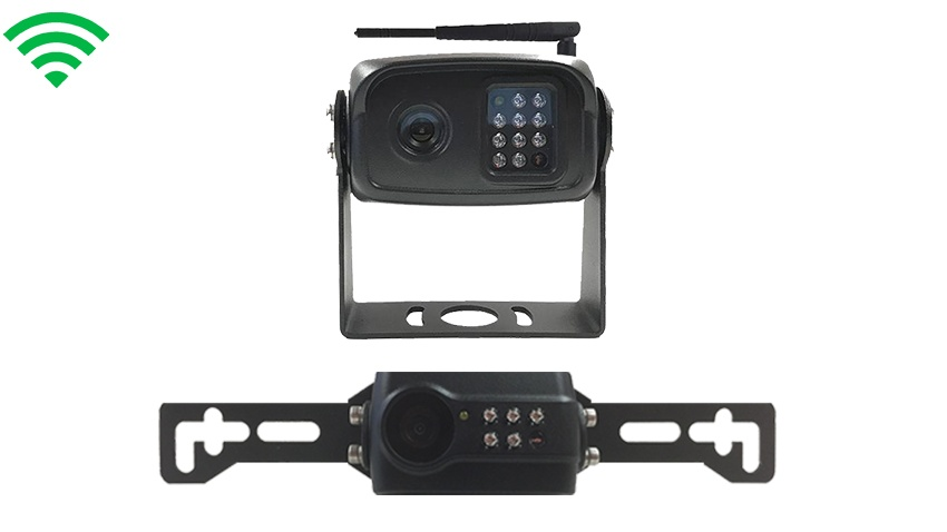 wireless license plate backup camera & rearview camera