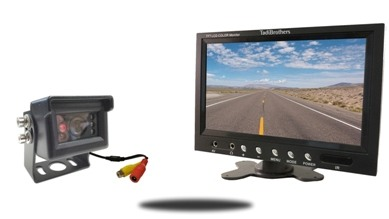 Mini Rv Backup Camera System Compatible With Furrion Housing