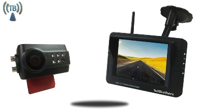 digital wireless rearview camera system