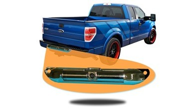 license plate backup camera for pickup truck