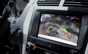 rear view camera system jaguar