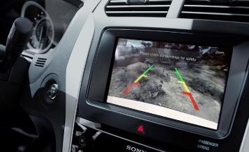 rear view camera system jaguar
