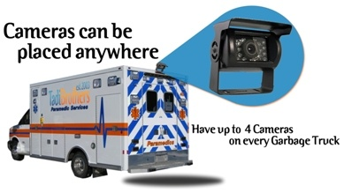 Ambulance Backup Camera kit