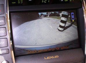 lexus rear view camera system