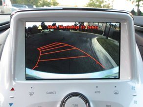 chevrolet back up system camera