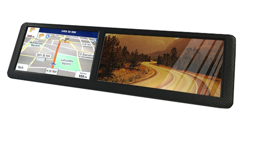 gps and backup camera combo wireless