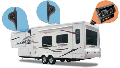 rv rear-view camera system