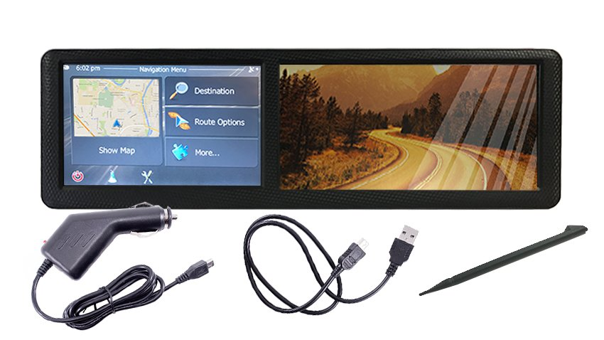 backup camera with gps navigation