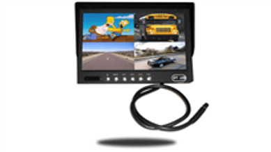 split screen monitor for RV and trailer